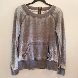 Roxy Dark Gray Pullover Sweatshirt Size Medium